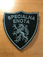 SLOVENIA PATCH POLICE  SWAT SRT SPECIALNA ENOTA - BALCK SUBDUED  - ORIGINAL!