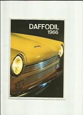 DAF DAFFODIL  SALES BROCHURE 1966