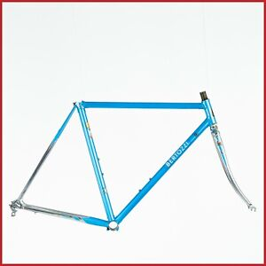 COLUMBUS SLX STEEL FRAME SET VINTAGE 80s ROAD RACING BIKE BICYCLE CINELLI SHELL