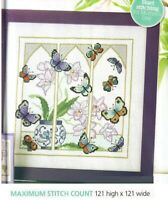 ORIENTAL WINDOW CROSS  STITCH   PATTERN  ONLY   EQ - EVP