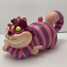 """Rare! Disney Alice in Wonderland Cheshire Cat 7"""" Ceramic Creamer / Teapot w/Lid"""