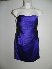 Davids Bridal Dress Size 6 Regency Strapless Bridesmaid F15629 NWT $149