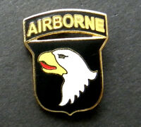 US ARMY 101ST AIRBORNE DIVISION LAPEL PIN BADGE 1 inch