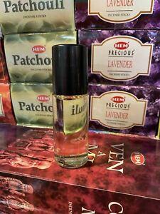 BLACK ICE Uncut Rich Perfume Oil Type For Men 1oz(30mL)