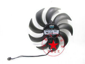 1PC COOLER MASTER A14015-12RA-2RN-F1 5V 0.25A notebook cooling fan