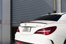 AMG Style ABS Spoiler For MY13-18 Mercedes-Benz C117 CLA-Class (SATIN BLACK)