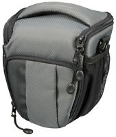 BRESSER ADVENTURE MIRRORLESS / DSLR ZOOMSTER Case Bag in Grey (UK Stock) BNIP