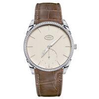 Parmigiani Tonda 1950 Automatic 18k White Gold Diamond 39mm Watch PFC267-1262400