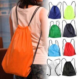 Fashion Women Men Hiking Travel Bags Drawstring Backpack Waterproof Casual Bag