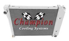 "68 69 70 71 72 73 74 Chevy Nova 21"" Core Champion 4 Row Aluminum Radiator MC571"