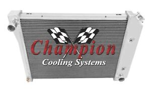 "4 Row Ace Radiator 20"" Core for 1970 - 1976 Pontiac Firebird / Trans Am L6 Eng"