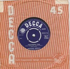 RARE Anthony  Newley  Strawberry  Fair / A  Boy  Without  A  Girl Vinyl  Single!