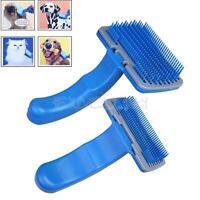 Pet Dog Cat Fur Hair Grooming Self Quick Clean Shedding Tool Brush Comb