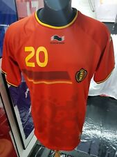 Maillot jersey trikot maglia shirt Belgique belgium januzaj hazard lukaku XL