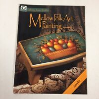 Mellow Folk Art Painting by Mary Jane Todd Decorative Tole Painting Book Vintage