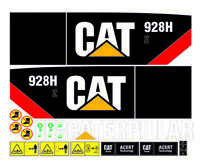 Adhesive sticker customize loader  caterpillar 928hZ