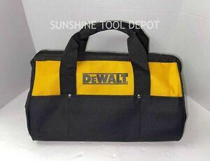 "DeWalt 18"" x 12"" x 11"" Large Heavy Duty Contractor Tool New Bag"