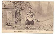 saint tarcisius , le soldat emporte le corps du martyr        a.e