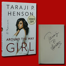 Around The Way Girl by Taraji P. Henson (2016,HC,1st/1st,NEW) with Signature