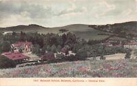 Hand Colored Postcard Belmont School in Belmont, California~126574
