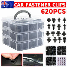 Car Trim Body Clips Kit 620PCS Rivet Retainer Door Panel Bumper Plastic Fastener