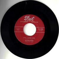 "HILLTOPPERS! - ""P.S. I LOVE YOU"" B/W ""I'D RATHER DIE YOUNG"" MONO 45 VPI CLEANED!"