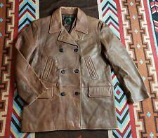 Lauren Ralph Lauren Brakeman Leather Jacket Polo RRL