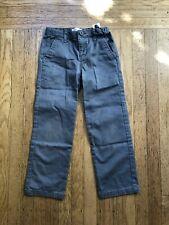 Old Navy Boys Uniform Pants 6 Regular Grey