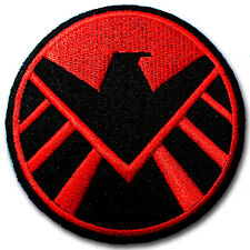Avengers Agents of Shield Patch Iron On Movie Badge Sew TV Series Eagle Biker MC
