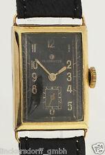 TUTIMA UHRENFABRIK GLASHÜTTE AG - HERREN ARMBANDUHR IN 14ct GOLD - 1930er JAHRE