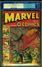 Marvel Mystery Comics #13 (1940) CGC 4.0 VG 1st app of Vision. Classic cover