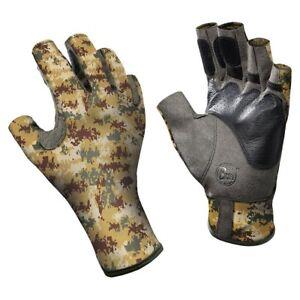 Buff Pro Series Angler 2 Gloves Pixel Desert XL/XXL 11/12
