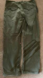 """Vintage 2004 Mens Maharishi Snopants Khaki Logo Design L Large W 34""""- 36"""" L 32"""""""