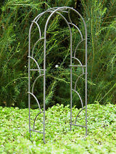 Miniature Dollhouse FAIRY GARDEN Furniture ~ Rustic Iron Arch ~ NEW