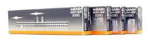 MARKLIN MINI-CLUB 'Z' GAUGE 8590 RAKE OF 4 STRAIGHT TRACK FEEDERS
