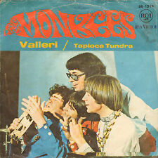 "MONKEES - Valleri (1967 VINYL SINGLE 7"" GERMAN PS)"