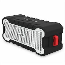 AUKEY Soundtank Bluetooth Speaker With 30 Hours Playtime Enhanced Bass Water