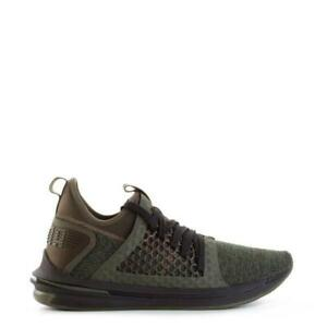 Mens PUMA FOREST GREEN IGNITE Trainers 190962 03