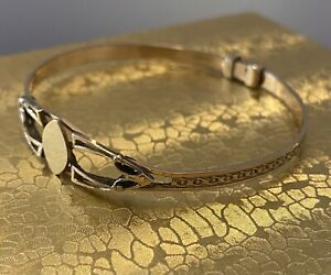 VICTORIAN💥18k SOLID GOLD BABY/CHILD BRACLET💥4.2gm💥BESPOKE MADE-C1800,s