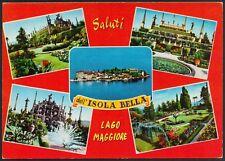 AD4409 Saluti dall' Isola Bella (VB) - Lago Maggiore - Vedute - Cartolina