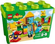 LEGO 10864 DUPLO La mia Grande Scatola di Mattoncini,Parco Giochi