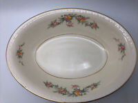 Homer Laughlin Eggshell Georgian CASHMERE Oval Serving Bowl Pattern G3391