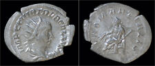 Trebonianus Gallus antoninianus Juno seated left