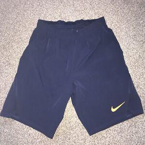 Mens XS Nike Dri Fit Tennis Shorts VGC Navy