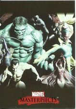 Marvel Masterpieces 2007 Alex Ross Splash Chase Card #3
