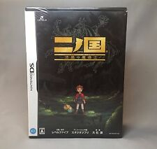 New! Ni no Kuni with Book Magic Master [Japan Import] Nintendo DS Studio Ghibli