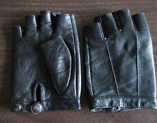 Mens Lambskin Leather Biker Gloves