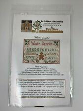 Little House Needleworks Cross Stitch Kit WINTER SAMPLER Chart & Threads