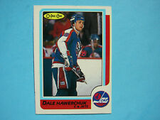 1986/87 O-PEE-CHEE NHL HOCKEY CARD #74 DALE HAWERCHUK NM SHARP!! 86/87 OPC