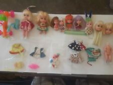 Lot Of VINTAGE LIDDLE KIDDLES DOLLS AND ACCESSORIES MATTEL 60'S